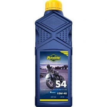 Putoline S4 10W/40 Mineral Based Motorcycle Motorbike Oil 1L